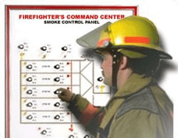A panel used in our smoke control testing